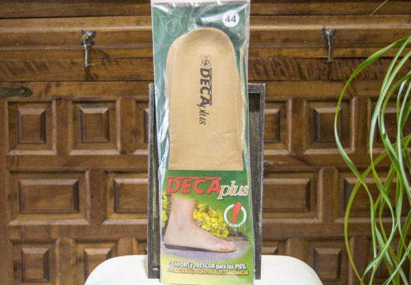 Plantillas Antibacterias DecaPlus - Confort y frescor