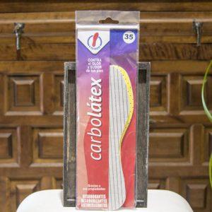 Plantillas para zapatos Carbolatex - Contra el sudor y el olor