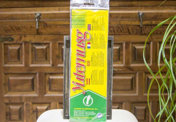 Plantillas relajantes y desodorantes Yutemusg propiedades